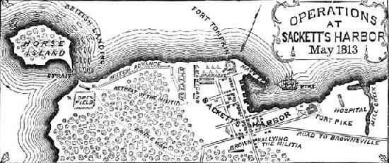 The Battle of Sackett's Harbour